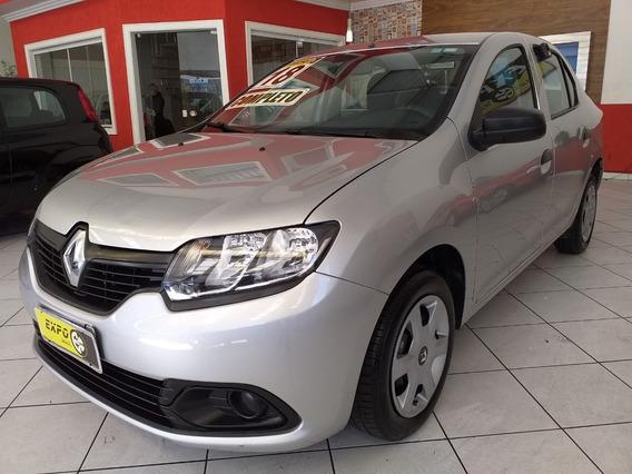 Renault Logan 1.0 Authentique 2018 Sem Entrada 48x 1150,00