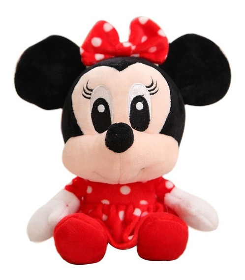 Pelucia Disney Mickey Mouse Minnie Winnie Pooh Lilo Leitão