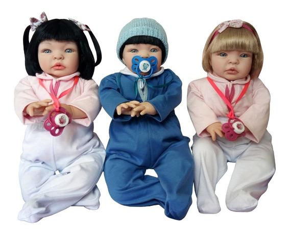 3 Bebes Reborn Realista Real Promoção Mais Barato!
