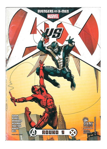 Imagen 1 de 1 de Avengers Vs Xmen #9 - Ovni Press - Adam Kubert - Bendis
