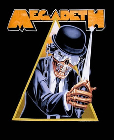 Backpatch Megadeth Clockwork Orange - 40x28