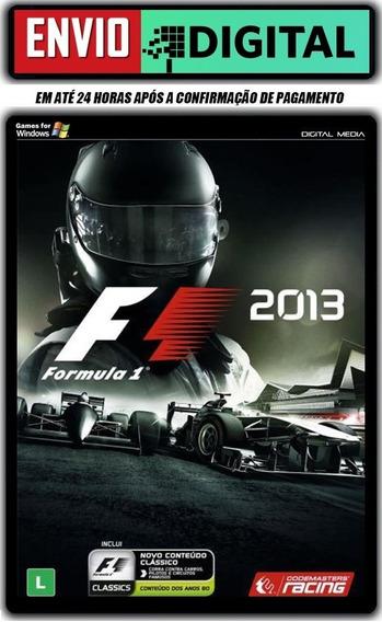 F1 2013 - Dublado Em Português - Pc - Envio Digital
