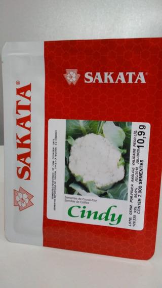 Sementes De Couve-flor Cindy 2000 Sem- Hibrida- Sakata
