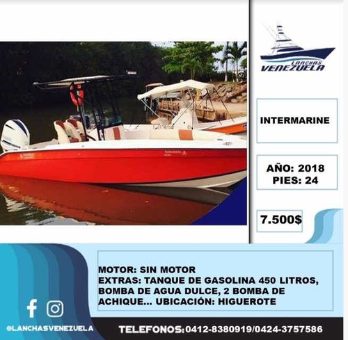Lancha Intermarine Lv72