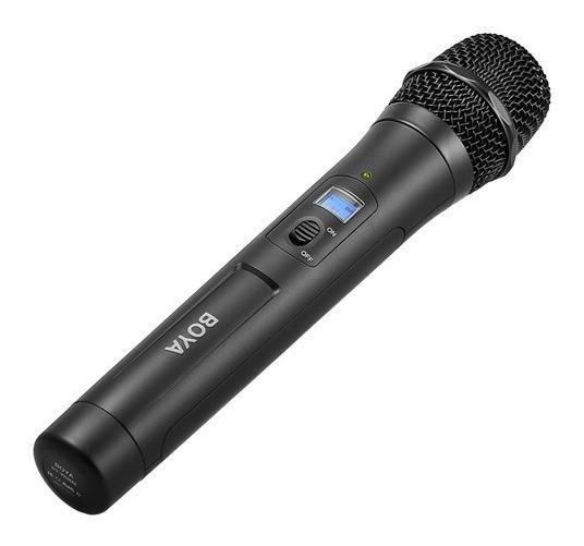 Microfone Sem Fio Boya By-whm8 Pro Sem Fio Uhf
