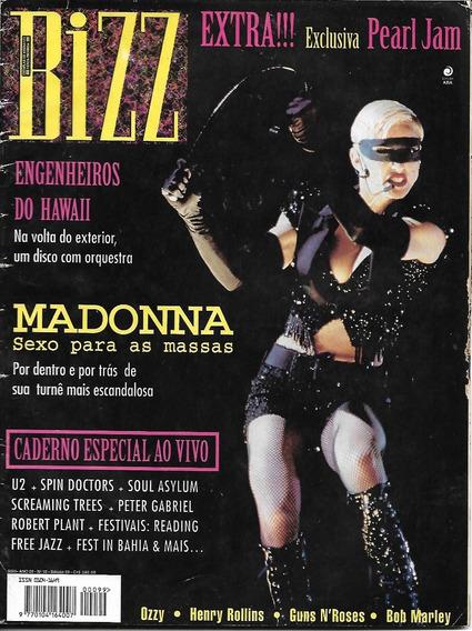 Revista Bizz 99- Engenheiro Do Hawaii, Ozzy Rita Lee Madonna