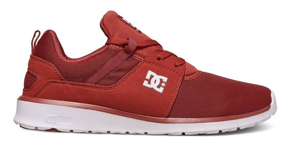 Tenis Hombre Heathrow Adys700071 Bhw Dc Shoes Rojo