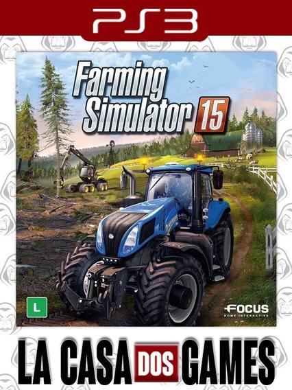 Farming Simulator 2015 - Psn Ps3 - Envio Imediato
