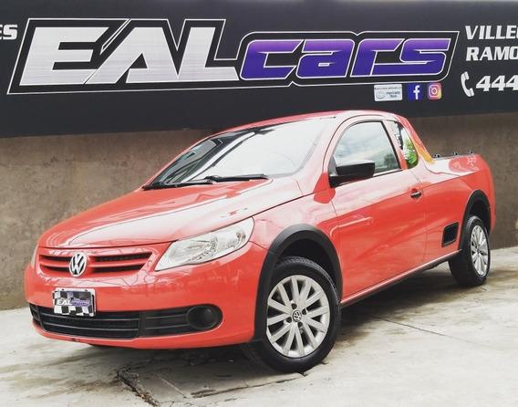 Volkswagen Saveiro 1.6 Pack Electr + Seg.2011 Roja 3 Puertas