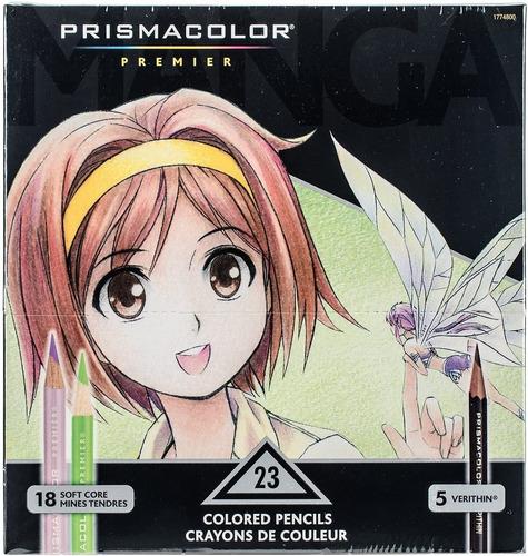 Lapices Prismacolor Premier 23 Colores Para Manga