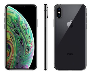 iPhone Xs Apple 64gb Cinza Espacial 4g Tela 5,8 - Retina Câ