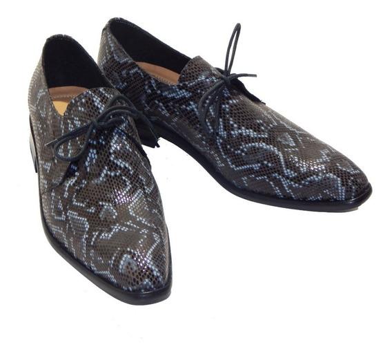 Zapatos De Vestir Acordonados Snake Dundee Priamo Italy