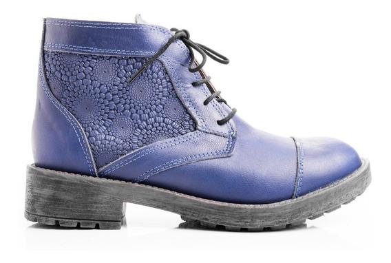 Borcegos Botitas Mujer Zapatos Botinetas Cuero Invierno