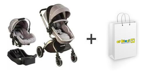 Imagen 1 de 2 de Coche System 360 Gris Bebesit Obsequio - Bebés Y Niños