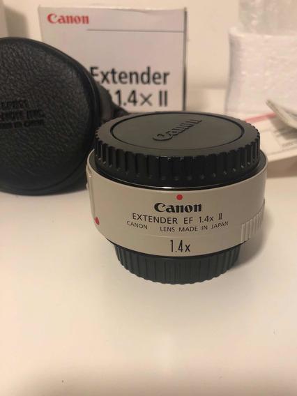 Canon Extender 1.4x Ii - Teleconverter Seminovo Completo