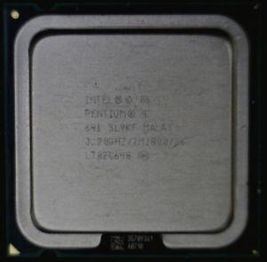 Procesador Intel Pentium 4 3.20 Ghz/2m/800  Socket Plga 775