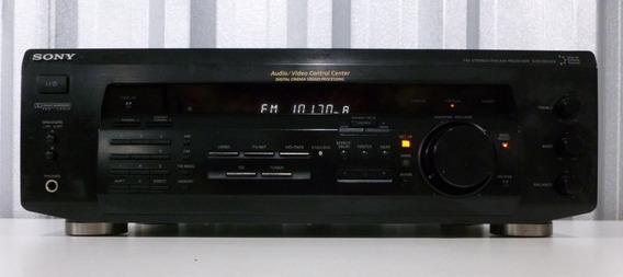 Receiver Sony 5.1 Mod. Str-de335 400 Wrms Sem C R Usado