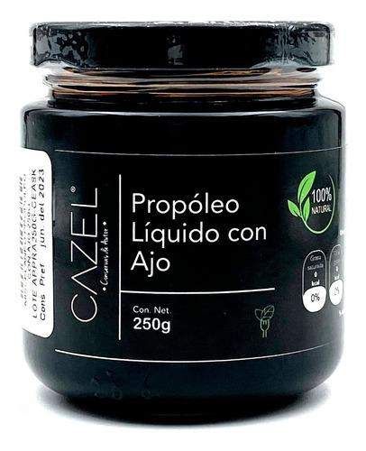 Propoleo Oaxaqueño Natural Concentrado Con Ajo 250g