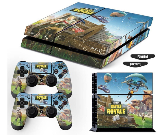 Adesivo Skin Ps4 Fat Fortnite