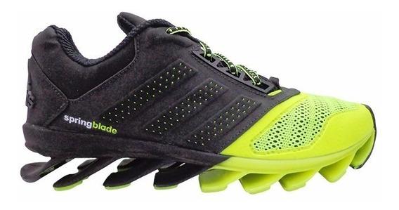 Tênis adidas Springblade Drive Preto E Verde Limão