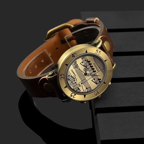 Relógio Masculino Notação Musical Grátis Relógio Digital