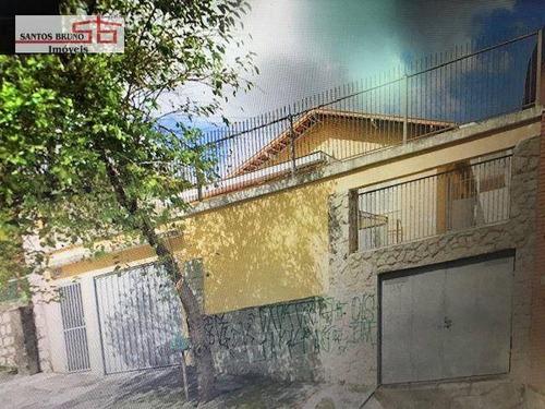 Imagem 1 de 30 de Oportunidade Para Construtor!! Terreno Com 312 M² Com Uma Casa Com 4 Dormitórios À Venda, 120 M² Por R$ 650.000 - Pq São Domingos - Sp  (11)97200-3334 - Ca1083