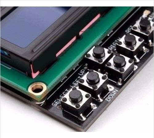 Display Lcd Keypad Shield 16x2 Com Teclado Botoes