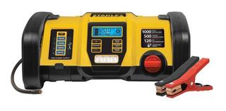 Cargador De Bateria Con Inflador Llantas Stanley 1000 A