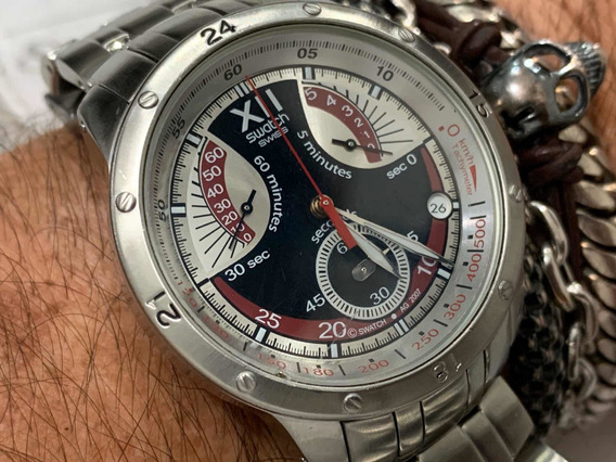 Swatch Swiss Ag2007 Chronograph Quartz
