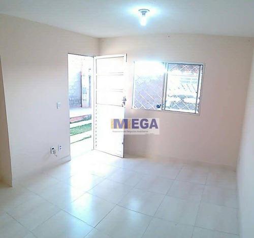 Imagem 1 de 15 de Casa Com 2 Dormitórios À Venda, 43 M² Por R$ 223.000,01 - Loteamento Residencial Novo Mundo - Campinas/sp - Ca2456