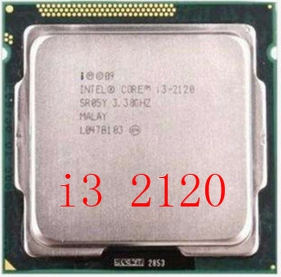 Processador Intel Core I3 2120 3.3ghz Novo Garantia Nf