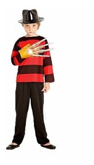 Disfraz Freddy Krueger Niño Halloween Fredy - Villa Urquiza