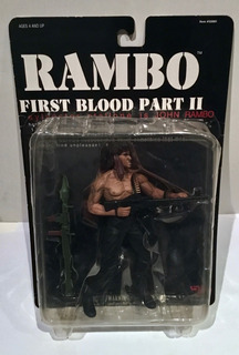 Rambo Stallone First Blood Parte 2 Figura N2 Toys 2001
