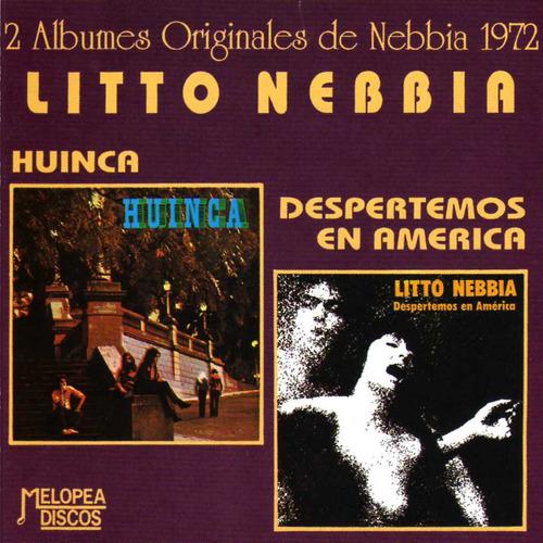 Litto Nebbia - Huinca / Despertemos En América - Cd