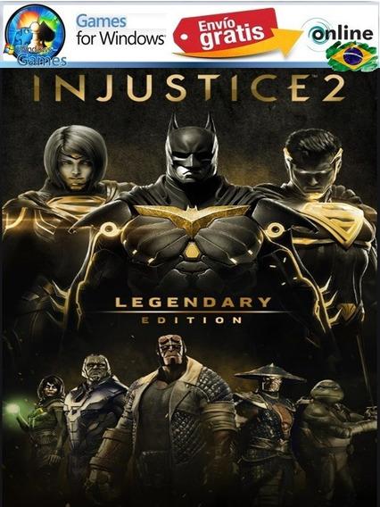 Injustice 2 Legendary Edition Pc Portugues