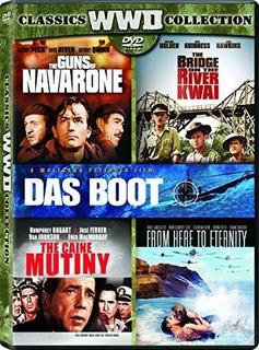 Dvd : Bridge On The River Kwai / Caine Mutiny / Das Boot...