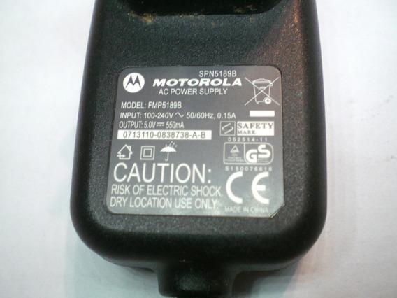 Fonte Carregador Gps Celular Motorola Output 5v 550ma Ac