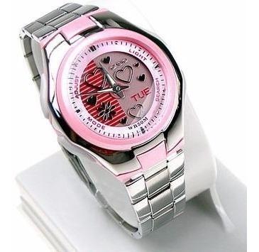 Relógio Casio Lcf10 Rosa 100% Original E Novo Em Vitória
