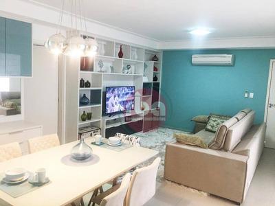 Apartamento Com 3 Dormitórios À Venda, 120 M² Por R$ 900.000 - Parque Campolim - Sorocaba/sp - Ap0652