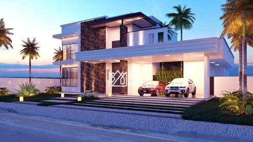 Imagem 1 de 11 de Casa Com 5 Dormitórios À Venda, 540 M² Por R$ 3.100.000,00 - Condomínio Village Castelo - Itu/sp - Ca1748