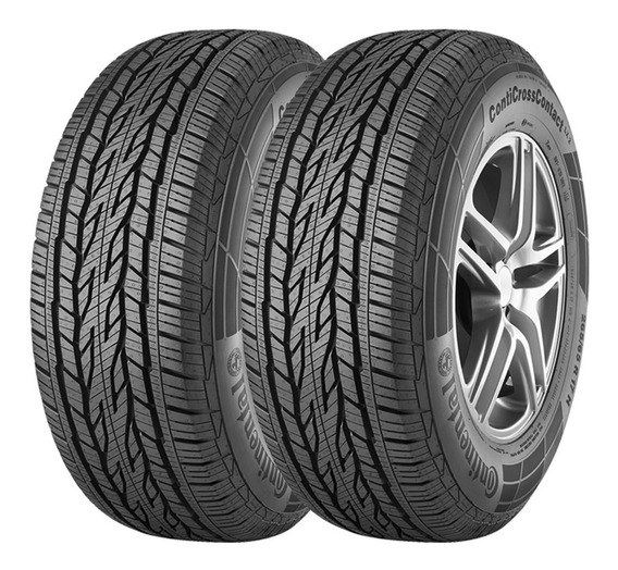 Kit 2 Cubiertas Continental 215/60 R17 Cross Contact Lx2 Co