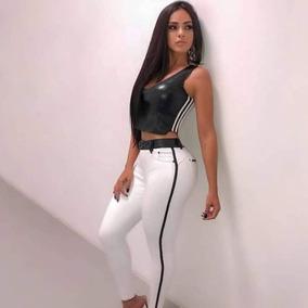 Calça Pit Bull Jeans Branca C/bojo, Est Rhero, Oxtreet.
