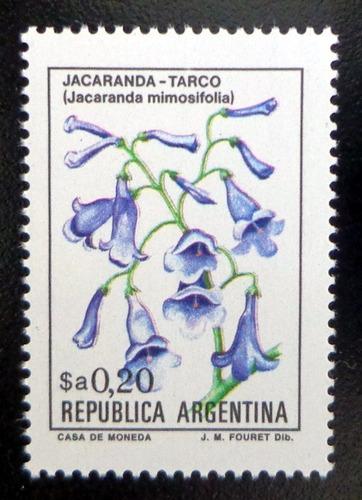 Argentina Flores, Sello Gj 2101 $a 0,20 Fósfor 83 Mint L9774