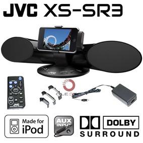 Sistema De Som Surround Dolby Dock Para Ipod Jvc Xs-sr3
