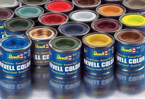 Tinta Revell 14ml Esmalte Sintetico: Varias Em Cores Estoque