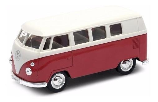 Welly Volkswagen Bus T2 Combi 1962 Colección Escala 1:36