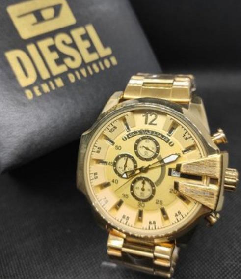 Relógio Diesel 10bar - Dourado