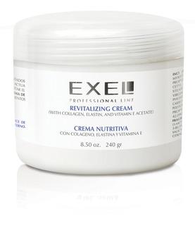 Crema Nutritiva Colageno Elastina Y Vitamina E Exel 240gr