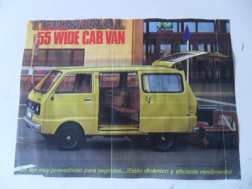 Folleto Daihatsu Catalogo 55 Wide Cab Van Pan Lactal Antiguo