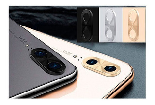 Protector Vidrio Camara Xiaomi Huawei iPhone Aluminio Color